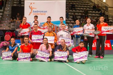 Vievermans en Sibbald winnen Junior Master Cup 2014