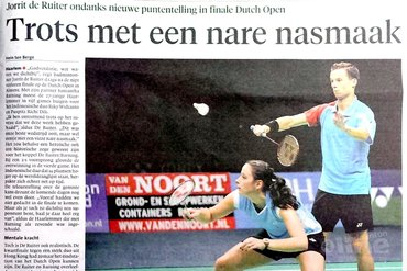 Haarlems Dagblad: 'Trots met een nare nasmaak'