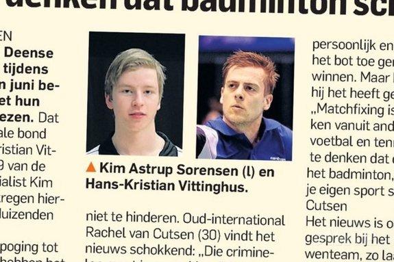 Rachel van Cutsen: 'Naïef te denken dat badminton schoon is' - AD