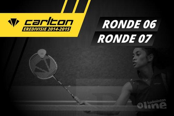 Carlton Eredivisie 2014-2015 - speelronden 6 en 7 - René Lagerwaard / badmintonline