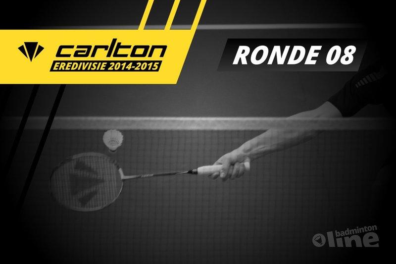 Carlton Eredivisie 2014-2015 - speelronde 8 - René Lagerwaard / badmintonline