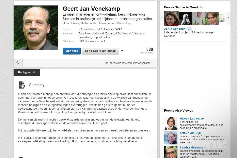 Geert Jan Venekamp vertrekt als directeur Badminton Nederland