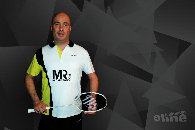 Ronald Wetzel zelfstandig met MR Badminton verder