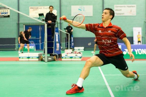 Badmintontalent Alex Vlaar versterkt VELO - René Lagerwaard