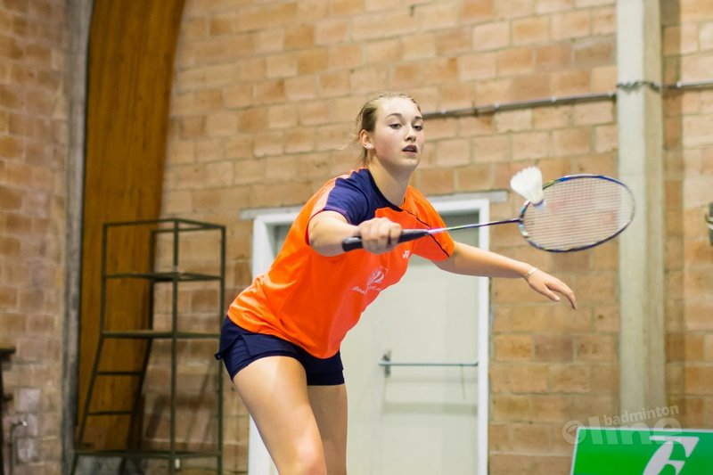 Badmintonster Van der Aar in voorselectie WJK - René Lagerwaard