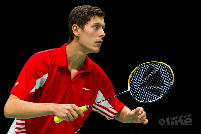 Vincent de Vries stopt als internationaal badmintonner, gaat Sportmarketing- en Management studeren in Tilburg