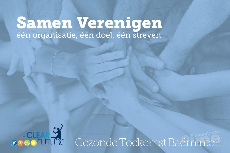 Samen verenigen: één organisatie, één doel, één streven