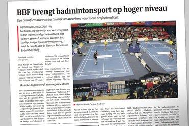 BBF brengt badmintonsport op hoger niveau