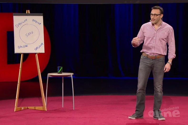 Deze afbeelding hoort bij 'Simon Sinek: why good leaders make you feel safe' en is gemaakt door TedX
