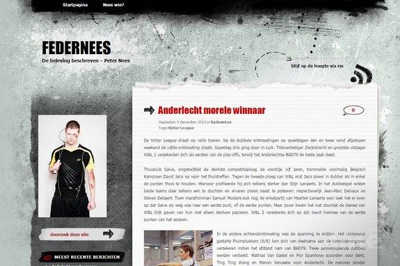 Deze afbeelding hoort bij 'Anderlecht morele winnaar in Vlaamse Victor League' en is gemaakt door Peter Nees