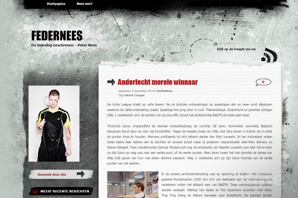 Anderlecht morele winnaar in Vlaamse Victor League - Peter Nees