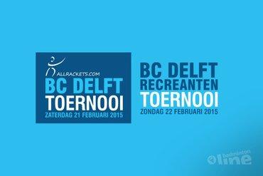 Twee eendagstoernooien in één weekend bij BC Delft