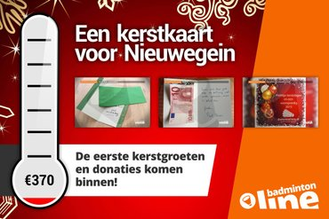 Badminton Nederland: Kerstkaarten komen aan in Nieuwegein!