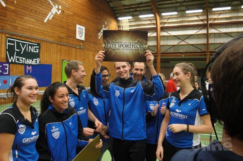 Eerste team VELO genomineerd voor Sportteam van het Jaar - Van Zundert / VELO