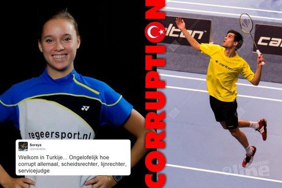 Dutch players De Visch Eijbergen and Fransman in awe about corruption at Turkey International - Alex van Zaanen, René Lagerwaard, badmintonline