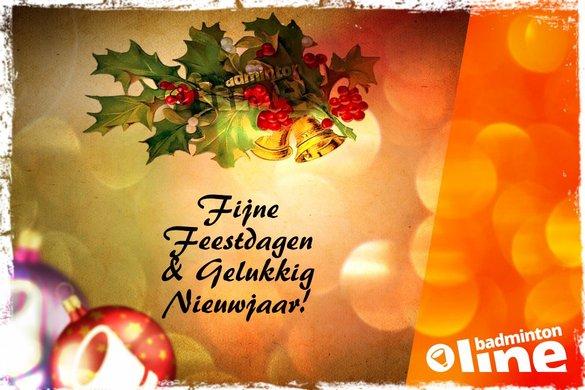 Fijne feestdagen! - badmintonline.nl