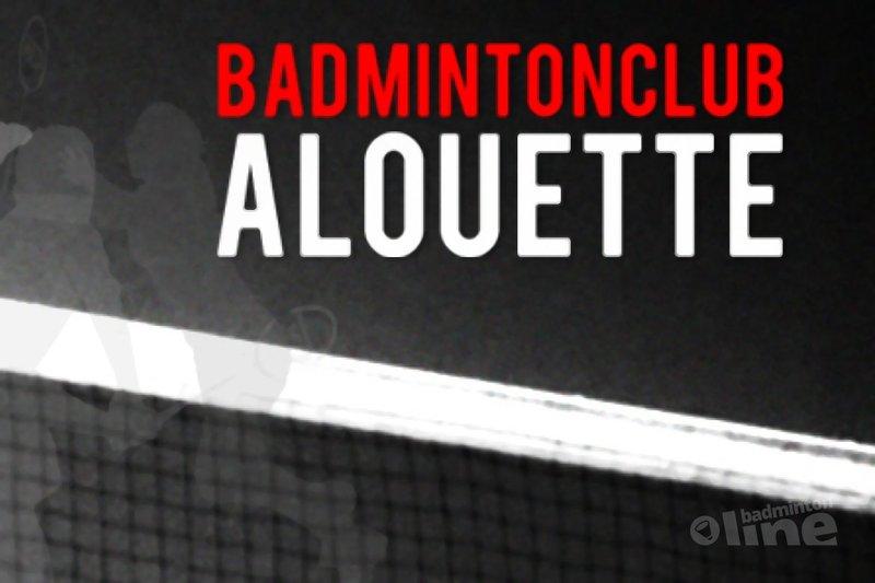 Inschrijving geopend voor Eind-Best toernooi op zaterdag 28 mei 2016 - BC Alouette