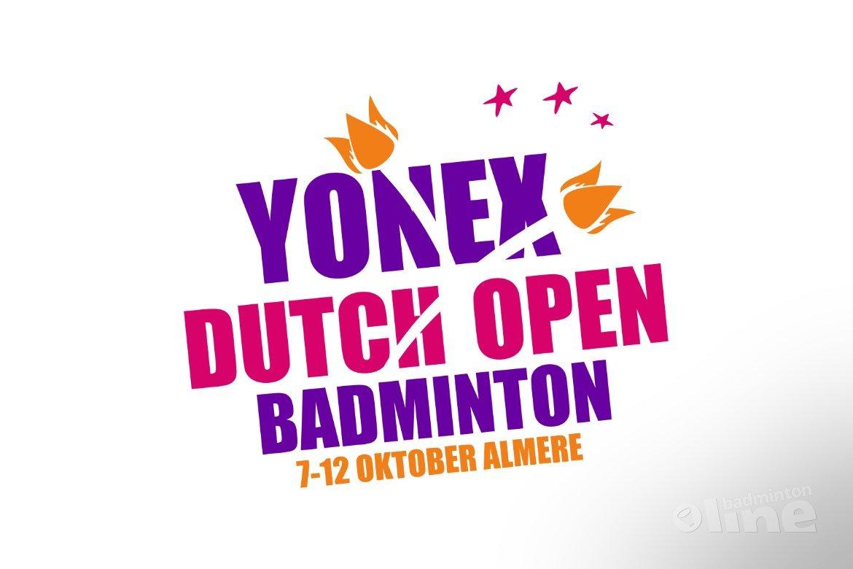 Muskens/Piek wint goud op Yonex Dutch Open