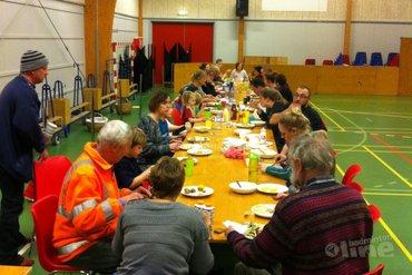 Extra service aan de leden: eten bij de club