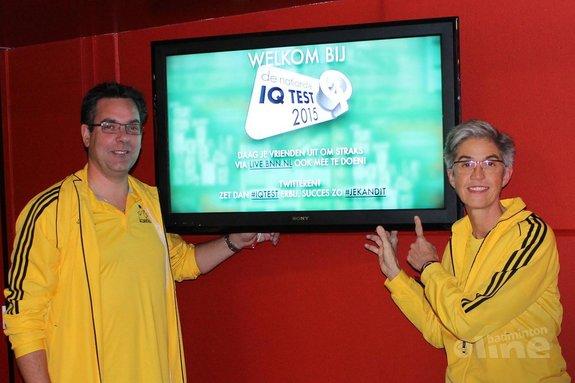 Deze afbeelding hoort bij 'De Nationale IQ test bewijst het: van badminton word je slim!' en is gemaakt door BV Almere