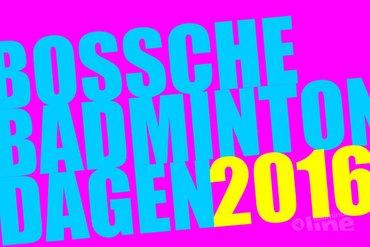 Aftrap Bossche Badmintondagen 2016 op dinsdag 2 februari in Maaspoort Den Bosch