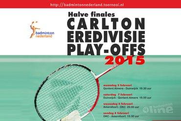 Halve finale play-offs Carlton Eredivisie