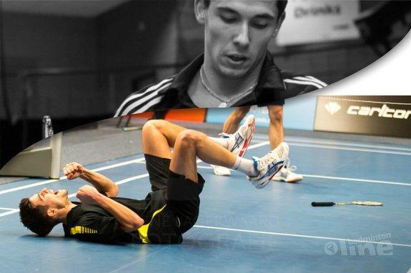 Een topsportcarrière met risico op zuurstoftekort - René Lagerwaard / badmintonline