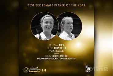 Stem op Eefje Muskens en Selena Piek als beste damesdubbel van Europa!