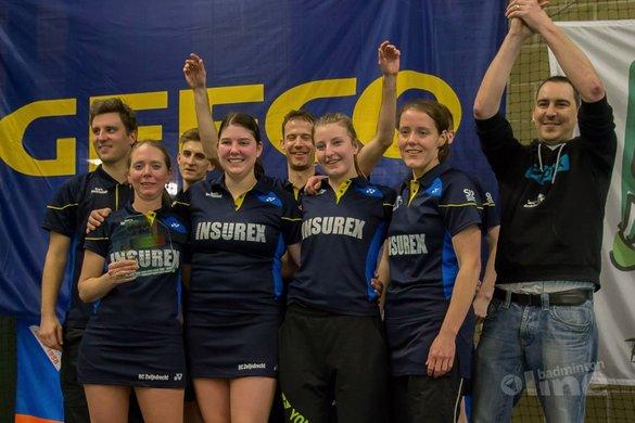 FederNees: BC Zwijndrecht Kampioen van België - Edwin Sundermeijer