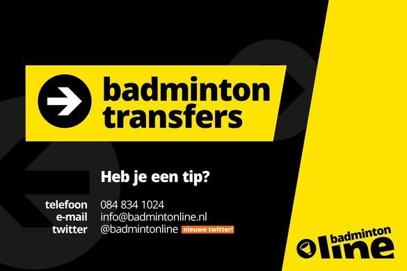 Transfers in de Carlton Bondscompetitie - badmintonline
