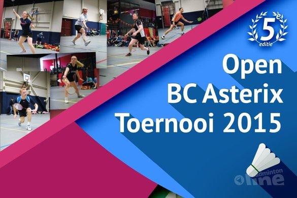 Asterix Open toernooi dit jaar ook voor eerste divisie spelers! - BC Asterix