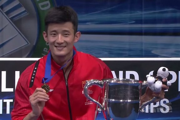 Chen Long takes second title - BWF