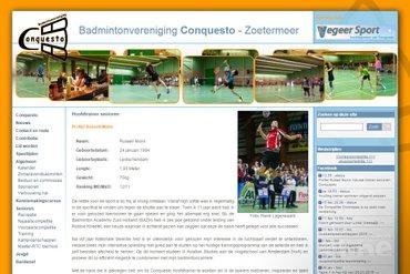Russell Muns nieuwe hoofdtrainer bij Conquesto in Zoetermeer