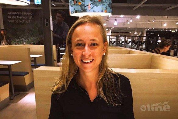 Selena Piek gekozen voor atletencommissie van Badminton Europe - Selena Piek