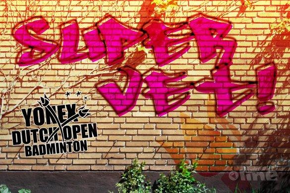 De Dutch Open als supervet evenement - badmintonline