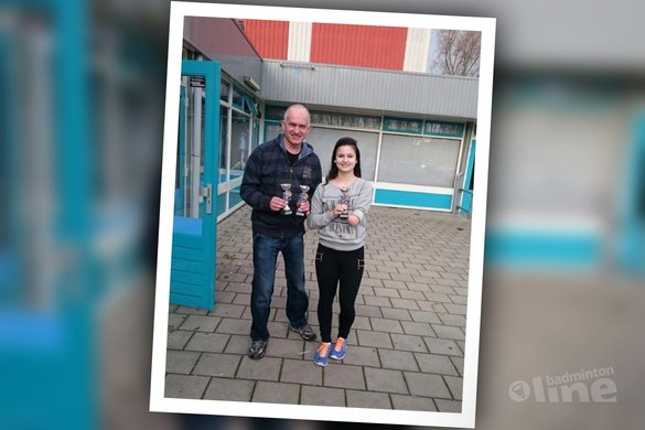 Veel verrassingen tijdens aangepast badminton toernooi Redeoss - Tess Scheele