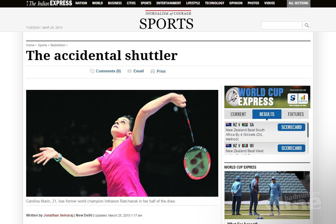 Carolina Marin: The accidental shuttler
