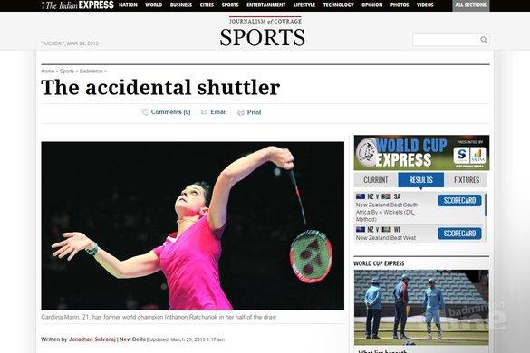 Carolina Marin: The accidental shuttler - The Indian Express