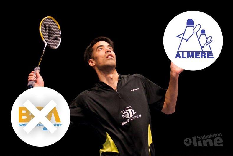 Deze afbeelding hoort bij 'Badmintongeruchten: gaat Eric Pang komend seizoen naar Almere?' en is gemaakt door René Lagerwaard / badmintonline