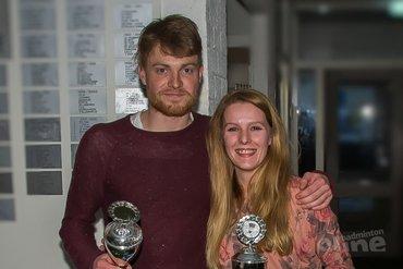 Rick Geers en Mandy Ipenburg kronen zich andermaal tot clubkampioen TFS'57
