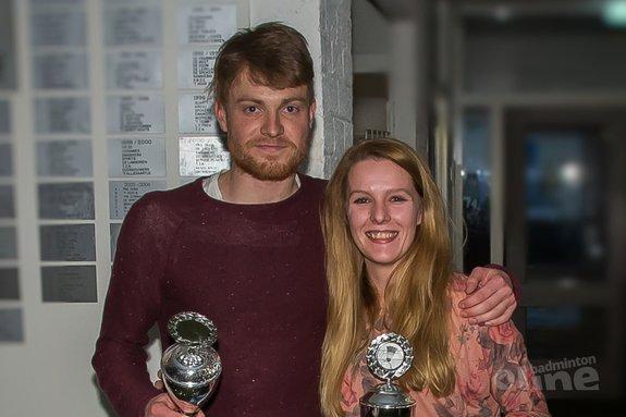 Rick Geers en Mandy Ipenburg kronen zich andermaal tot clubkampioen TFS'57 - Edwin Sundermeijer