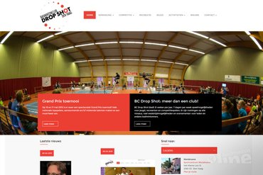 Harmen Droppers - what's in a name - trots op nieuwe website BC Dropshot