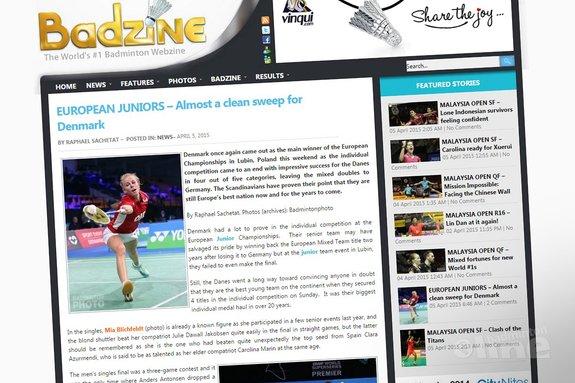 European Juniors: Almost a clean sweep for Denmark - Badzine