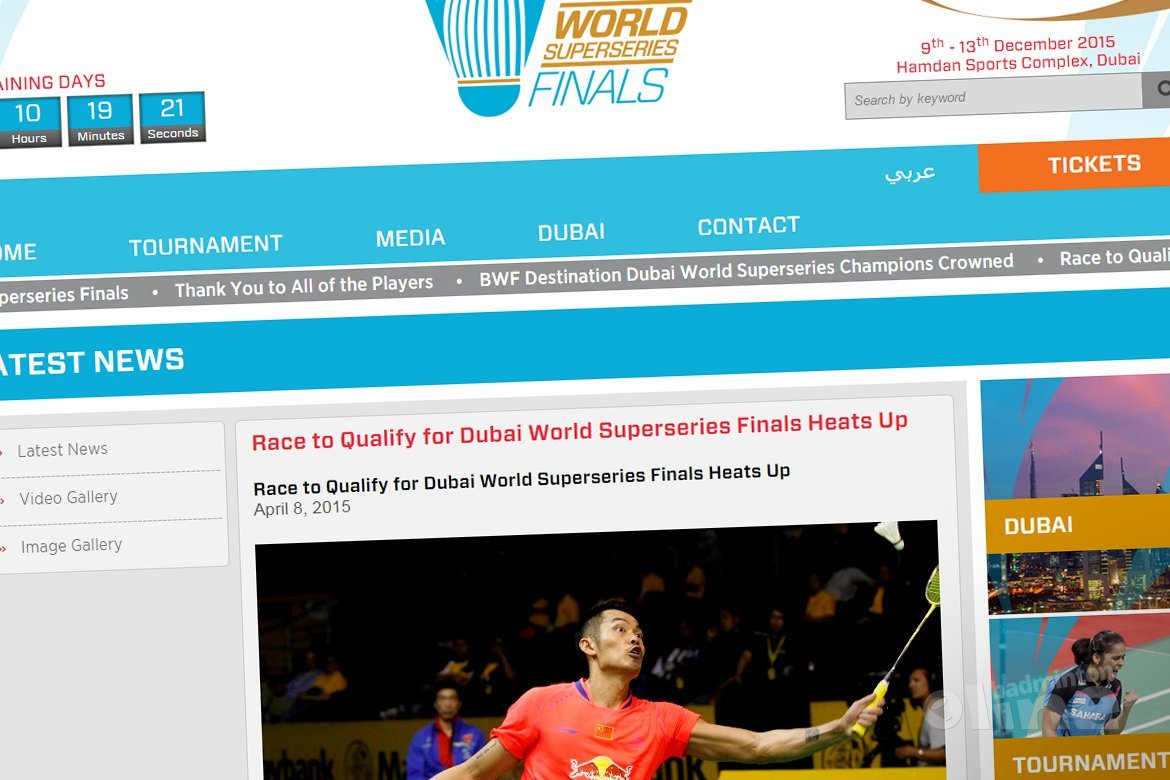 Race to qualify for Dubai World Superseries Finals heats up