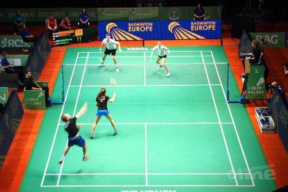 Gemengddubbel topjeugd toch best complex - Badminton Europe