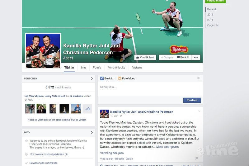 Badminton Denmark kicks out five of its top players over sponsorship row - Facebook