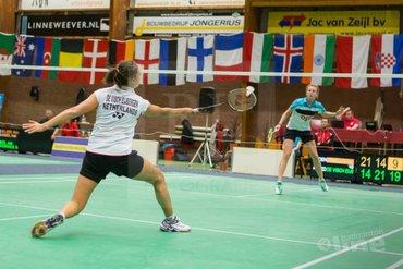 Tien Nederlandse kwartfinales op de Victor Dutch International