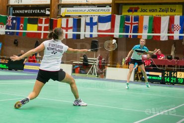 Tien Nederlandse kwartfinales op de Victor Dutch International