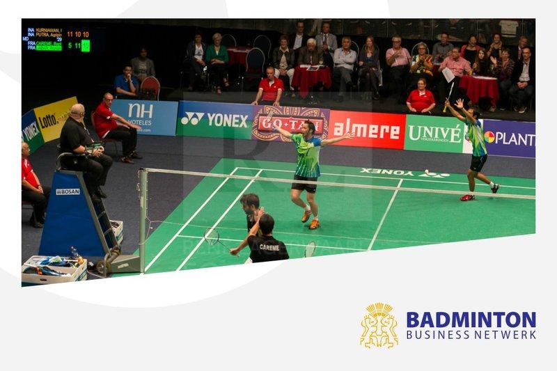 Banden aanhalen met Badminton Business Netwerk - René Lagerwaard / badmintonline