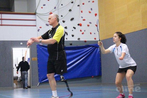 Driemaal zilver voor blademintonner Eddy Boerman - Aangepast Badminton Nederland
